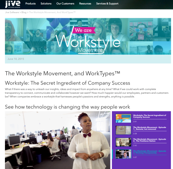 Workstyle blog